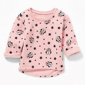 Old Navy Disney Minnie Mouse Tunic Sweatshirt 2T